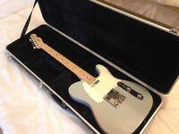 Fender Telecaster USA 2007 Daphne Blue + Gator Hard Case