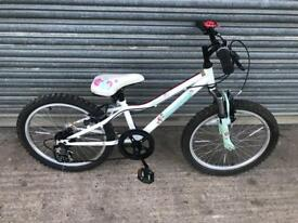 "Apollo Moonstone 20"" Wheel Girls Bike. Serviced, Good Condition. Free Lock, Lights, Delivery"