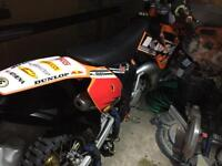 KTM 85cc small wheel