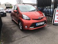 Toyota Aygo 1 Litre Petrol Manual 5 Door Hatchback 2012 Stunning Low Mileage Car