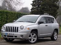 Jeep Compass 2008 2.4 Limited Station Wagon CVT 4x4 5dr**PX WELCOME + HPI CLEAR***