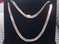 14k Mediterranean gold chain possible delivery