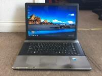 "Advent 8115 17"" dualcore Windows 7 laptop"