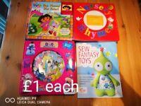 4 kids books £1 each