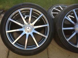 Genuine Mercedes AMG S63/65 20 inch wheels