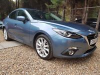 Mazda3 2.2 TD SKYACTIV-D Sport Nav Fastback 4dr FREE 1 YR WARRANTY, HEAD UP DISPLAY, P/X WELCOME