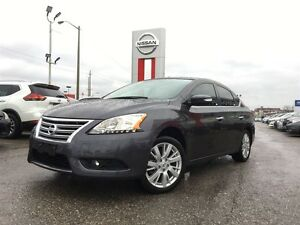 2015 Nissan Sentra 1.8 SL-ACCIDENT FREE AND LOADED!!!!