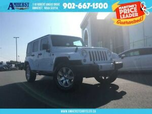2015 Jeep WRANGLER UNLIMITED HARD AND SOFT TOP, LEATHER, NAV