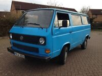 vw Transporter T3 / T25 left hand drive