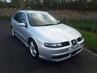 SEAT LEON 20V TURBO CUPRA, ONLY 51,263 MILES BY ONE FASTIDIOUS OWNER. DOCUMENTED SERVICE HISTORY.