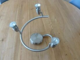 Stainless steel light fitting spot lights two matching designs