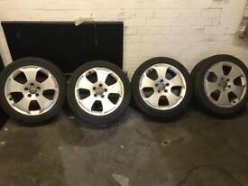 """17"""" Audi winter wheels"""
