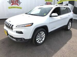2015 Jeep Cherokee Limited, Navigation, Leather, 4wd