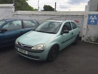 Vauxhall Corsa 1.2 very cheap car engine is sweet grab a bargain be quick!