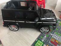 Mercedes g wagon electric car