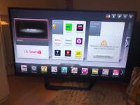 "LG 47"" smart 3d led tv super slim"