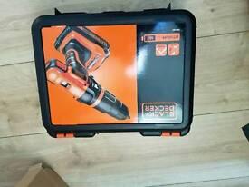 Black and decker 18volt battery drill.