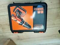 Black and decker 18volt battery drill.