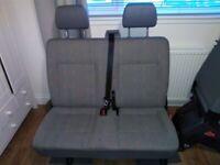 VW T5 rear bench seats for sale  Fochabers, Moray