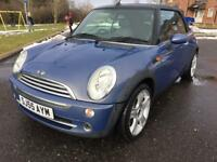 2005 MINI COOPER CONVERTIBLE 1.6 FULL SERVICE HISTORY!! IMMACULATE CONDITION!!