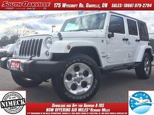 2014 Jeep Wrangler Unlimited Sahara | 4X4 | HEATED SEATS | NAVIG