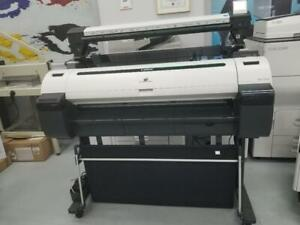 DEMO UNIT-Canon 36 ImagePROGRAF iPF770 Graphic Color Large Format Printer with Stand Buy Or Lease at amazing prices
