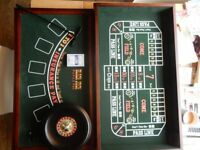 Table Top Roulette Black Jack Craps Cards Dice Game Gambling Club House Bar