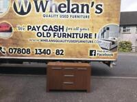 Walnut wood sideboard £49