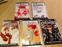 Manga books- D.N.Angel 1-5 in perfect condition