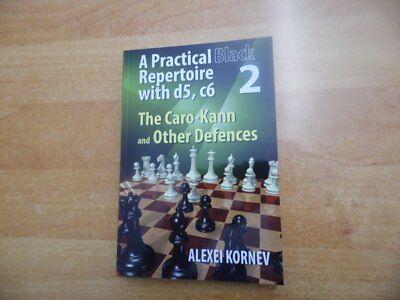 GM Kornev: A Practical Black Repertoire with d5, c6 Vol. 2 ChessStars 2017