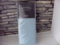 SLEEP COTTON RICH DOUBLE FITTED SHEET 180 THREAD COUNT DUCKEGG BNIP TESCO MORE AVAILABLE