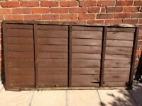 FREE used fence panel