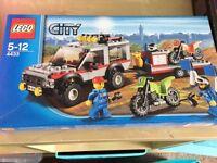 Lego dirt bike transporter