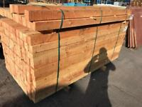 Timber, wooden planks, 4x4 wooden posts. 8ft long