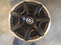 """Bentley 20"""" split wheels - vw t5 120pcd + 112pcd"""