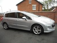 2008 peugeot 308 16 hdi sport{7 seater**seats with it**pan roof,up graded sport alloys}