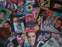 Job Lot 40 Various ELVIS PRESLEY Books and Magazines