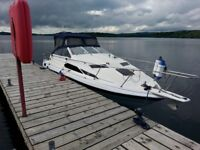 Bayliner 2455 - Mercruiser 2.8L Diesel Engine - 4 Berth Sports Cruiser Motor Boat