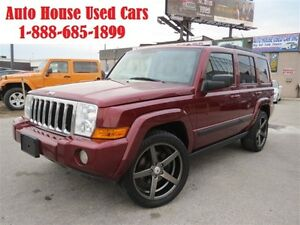 2009 Jeep Commander AWD, leather, sunroof,7 passenger, Sport