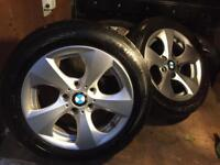 16 inch BMW alloy wheels and tyres