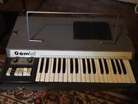 Gem Gemini combo organ