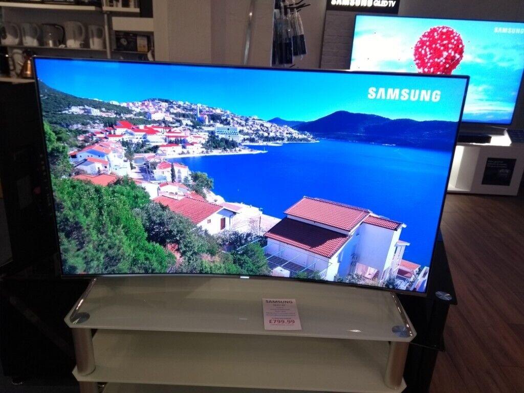 Samsung UE49KS7500 Curved 4k Quantum Dot TV - Ex-Demo - Guarantee &  Installation | in Portland, Dorset | Gumtree