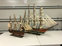 Model Ship Galleons