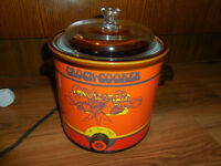 Crock slow cooker