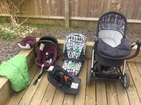 Mama's and papas Sola buggy pram car seat