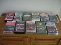 Classic Car Rally Tape VHS - 11 in all. All good condition