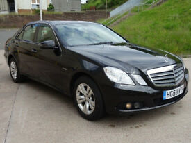 MERCEDES-BENZ E CLASS 2.1 E220 CDI BLUEEFFICIENCY SE 4d AUTO 170 BHP + FRONT & REAR PARKING AID
