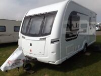 Coachman Olympia 2 berth 2014 end shower room.