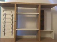 IKEA shelving/filing system for Malm desk or other of same size