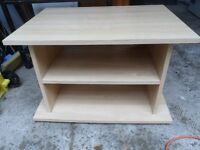 TV/DVD or video unit stand storage etc